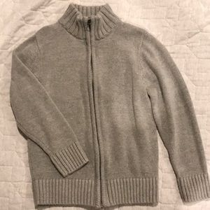 Size 5/6 Children's Place Zip-Up Sweater